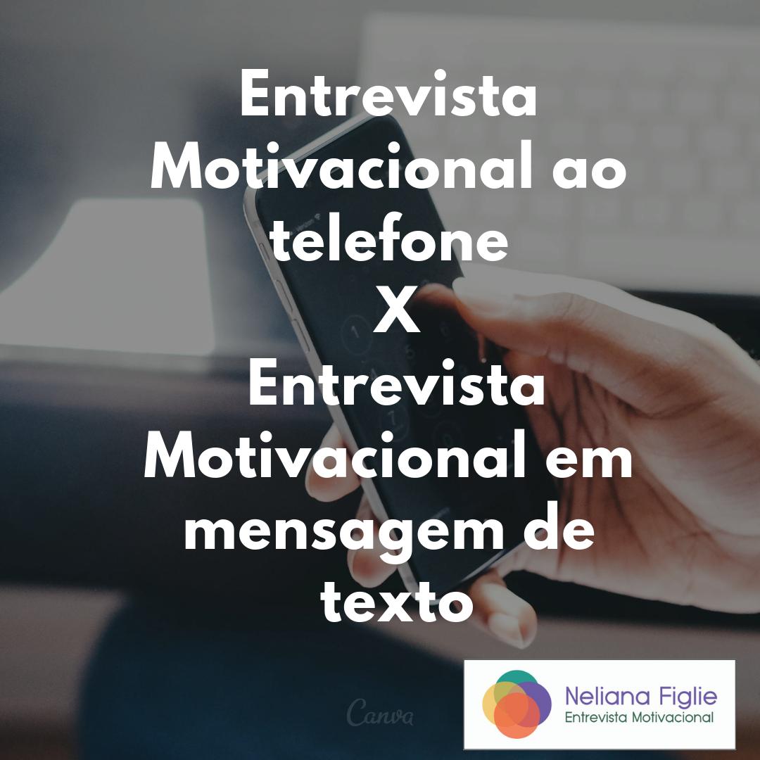 Entrevista Motivacional Ao Telefone X Entrevista
